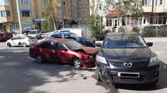 VIDEO | În ultimele 72 de ore, în Chișinău s-au produs 98 de accidente rutiere. Mai multe persoane au avut de suferit