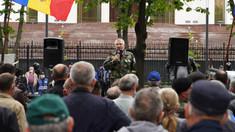 VIDEO | UPDATE: Un nou protest al veteranilor în centrul Capitalei. Manifestanții cer demisia lui Igor Dodon