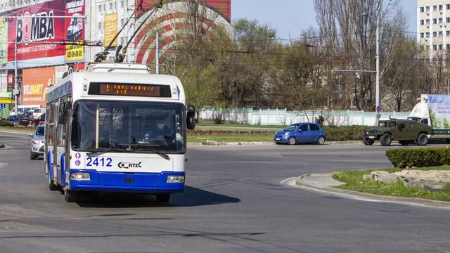 Circulația transportului public din Capitală va fi sistată în perioada 6 - 8 iunie