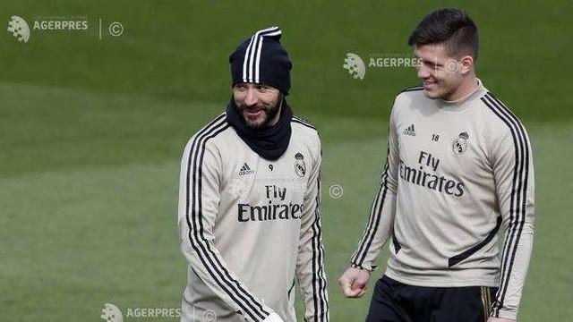 Fotbal: Real Madrid, cu lotul complet, începe testarea jucătorilor contra coronavirusului