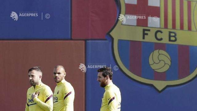Fotbal/Coronavirus: Jucătorii de la FC Barcelona, testați miercuri în vederea reluării antrenamentelor