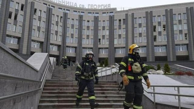 Incendiu la un spital din Rusia. Cinci pacienți infectați cu coronavirus au murit