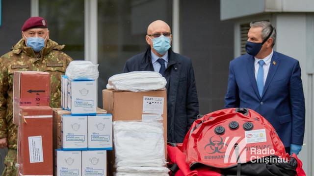 Directori ai spitalelor din R.Moldova: Ajutorul oferit de statul român a venit la timpul potrivit, deoarece toate stocurile erau pe sfârșite. Tot ce am primit este foarte calitativ