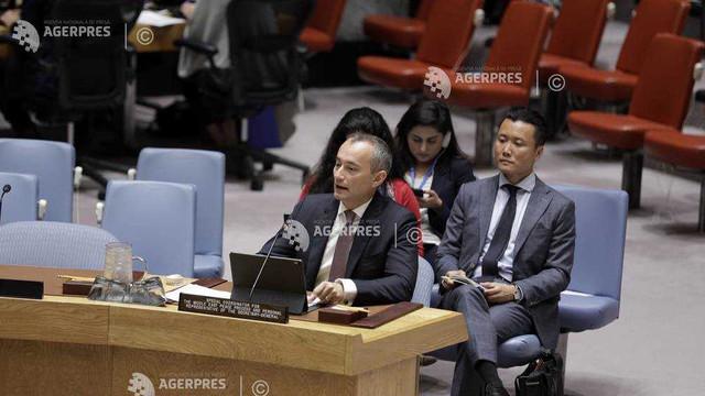 Israelul trebuie să abandoneze amenințările cu anexarea (emisar ONU)