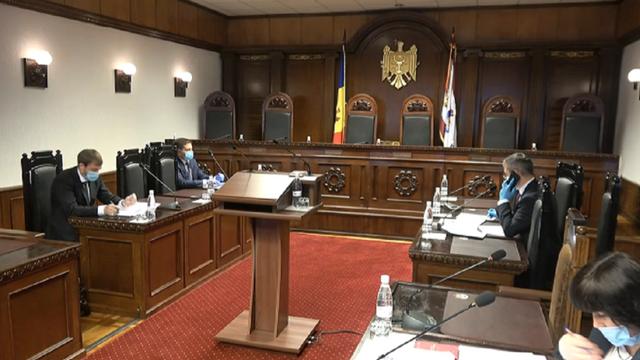 CC examinează sesizarea care vizează Legea Procuraturii: Vladimir Țurcan, recuzat (ZdG)