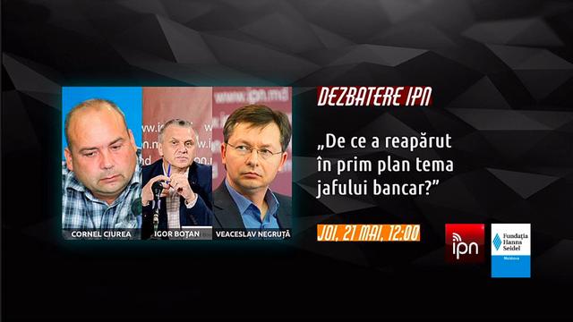ANALIȘTI: De ce a reapărut în prim plan tema jafului bancar? Dezbateri IPN
