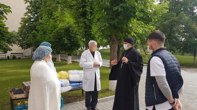 Episcopia Basarabiei de Sud (Mitropolia Basarabiei, Patriarhia Română), donație de echipamente de protecție pentru spitalul din Cimișlia