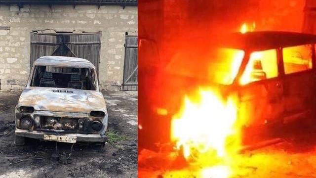 PAS anunță că noaptea trecută a fost incendiată mașina de serviciu a primăriei Negureni, raionul Telenești