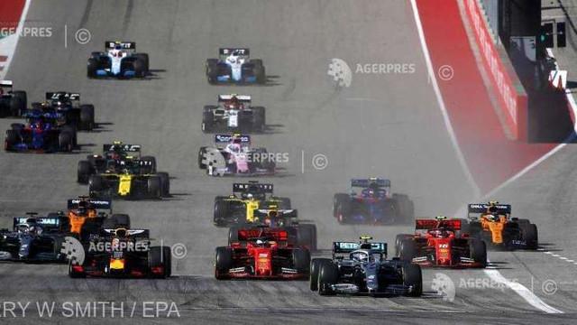 Auto/Coronavirus: Piloții de Formula 1 susțin cursele fără spectatori