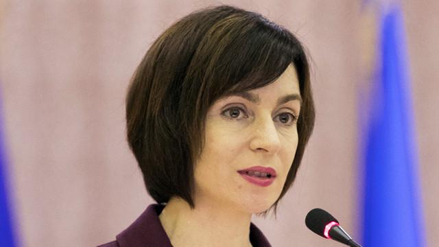 Maia Sandu spune în ce condiții l-ar putea susține pe Andrei Năstase la prezidențiale