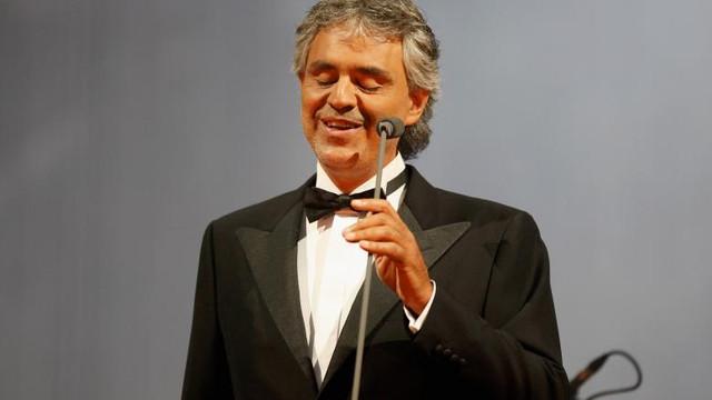 Andrea Bocelli a avut coronavirus. Cum a aflat tenorul italian că s-a infectat