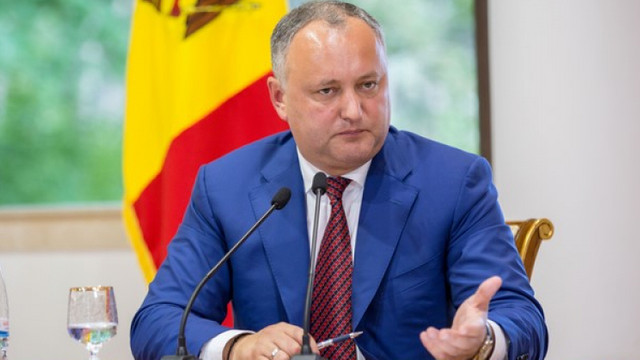 Igor Dodon: Nu examinez opțiunea de a pleca din funcția de președinte