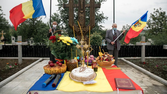 GALERIE FOTO   Eroii români căzuți în luptă pentru eliberarea Basarabiei, comemorați și la Orhei
