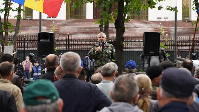 VIDEO   Protestul veteranilor s-a încheiat. Când va fi organizată următoarea manifestație