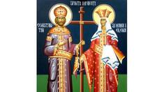 Creștinii ortodocși de stil vechi îi sărbătoresc pe Sfinții Împărați Constantin și Elena