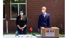 China a oferit Republicii Moldova un nou lot de asistență în lupta cu COVID-19