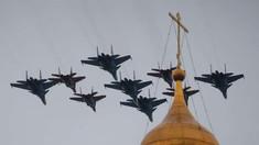Rusia a trimis un al doilea grup de avioane de vânătoare în Siria