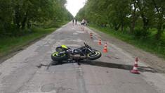 Un minor a murit într-un accident cu motocicleta