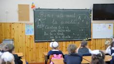 Lecții de 35 de minute, în septembrie, pentru elevii din clasa I-a