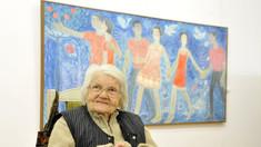 """Pictorița Valentina Rusu-Ciobanu a fost decorată cu Ordinul """"Meritul Cultural"""" de către Președintele României, Klaus Iohannis"""