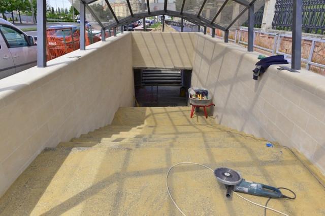 FOTO | Lucrările la trecere subterană de pe Viaduct sunt executate în proporție de 40 la sută