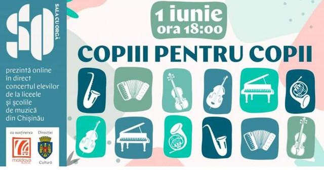 VIDEO   Concertul elevilor de la liceele și școlile de muzică din Chișinău