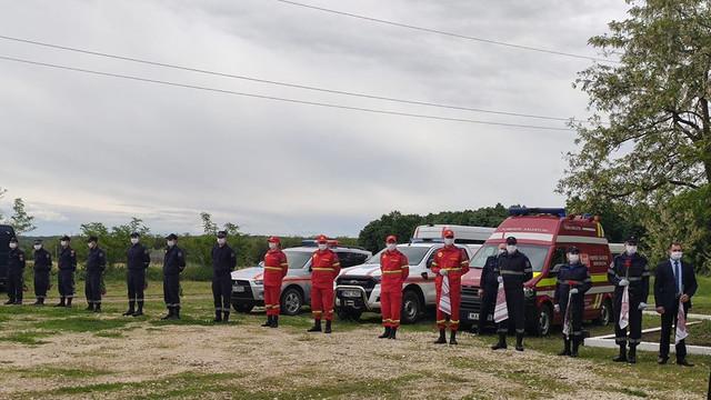 Depuneri de flori în memoria echipajului SMURD Iași. Daniel Ioniță: Patru eroi și-au pierdut viața pentru binele nostru. Ei ne-au lăsat în urmă îndurerați, dar ne-au întărit convingerea de a ajuta oamenii