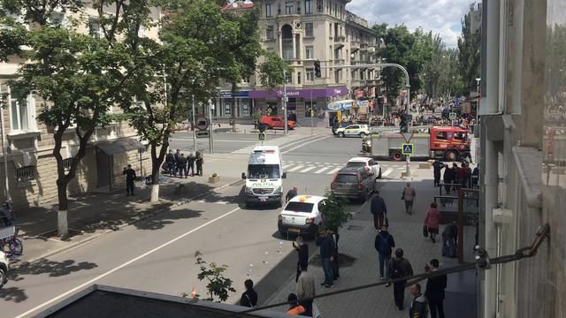 VIDEO/UPDATE   Detalii privind alerta cu bombă de pe strada Armenească, lângă sediul MAI