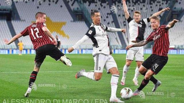 Fotbal: Juventus, prima finalistă a Cupei Italiei