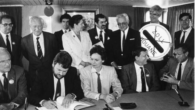FRAGMENT DE ISTORIE: 35 de ani de la semnarea Acordului de la Schengen