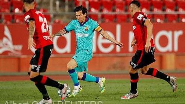 Fotbal: Messi a marcat în victoria la scor a Barcelonei în campionatul Spaniei