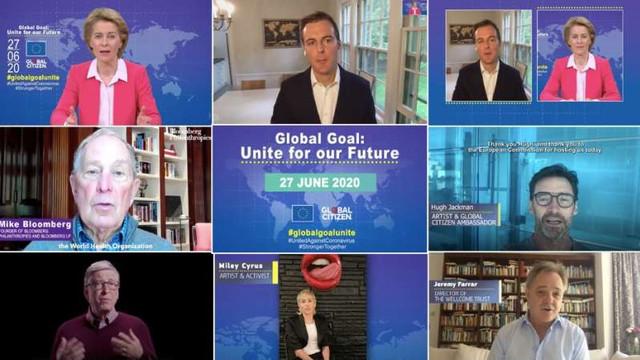 Răspunsul mondial la coronavirus: O reuniune mondială la nivel înalt a donatorilor și un concert vor avea loc pe 27 iunie