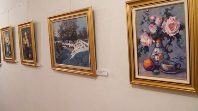 O expoziție personală a artiștilor plastici Antonina și Vitalie Grișciuc a fost deschisă la Biblioteca Națională