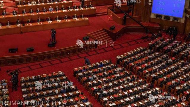 China: Parlamentul a adoptat legea privind securitatea națională în Hong Kong (presă)