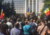 """Veteranii războiului de la Nistru au protestat în fața Parlamentului. """"Inacțiunea autorităților este o trădare a intereselor naționale și o complicitate la infracțiunile separatiștilor"""