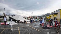 Cel puțin 10 morți după trecerea unui ciclon în sudul Braziliei