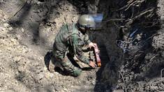 VIDEO | 16 militari geniști au lichidat peste 1260 de obiecte explozive în satul Bălțați. Primarul localității: A fost o tragedie în care au suferit doi copii