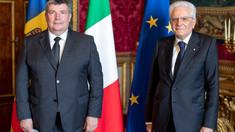 Noul ambasador al R.Moldova în Italia și-a prezentat scrisorile de acreditare