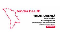 Donațiile pentru combaterea COVID-19 pot fi vizualizate pe platforma tender.health
