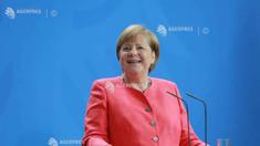 Angela Merkel și liderii principalelor instituții ale UE dezbat miercuri, la Bruxelles, planul de redresare economică