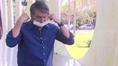 VIDEO | Confirmat cu COVID, Jair Bolsonaro și-a dat masca jos în fața jurnaliștilor. Reacția presei