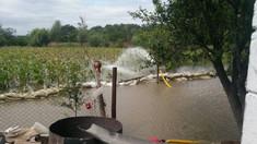 Ploile din ultimele zile au provocat un deces și pagube în mai multe localități din R. Moldova