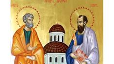 Creștinii ortodocși de stil vechi sărbătoresc pe Sfinții Apostoli Petru și Pavel