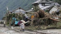 Inundații în Japonia - Cel puțin 70 de morți în urma ploilor torențiale; precipitațiile se vor intensifica începând de luni