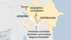 Lupte cu tancuri și artilerie la granița dintre Armenia și Azerbaidjan