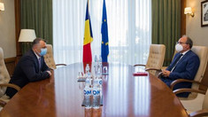 Premierul Ion Chicu a avut o întrevedere cu ambasadorul României, Daniel Ioniță