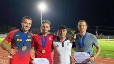Atletism: Patru medalii (inclusiv 2 de aur) pentru sprinterii români la concursul de la Atena