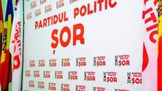 Partidul Șor a protestat la sediul Delegației Uniunii Europene la Chișinău