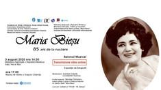 S-au împlinit 85 de ani de la nașterea cântăreței de operă Maria Bieșu