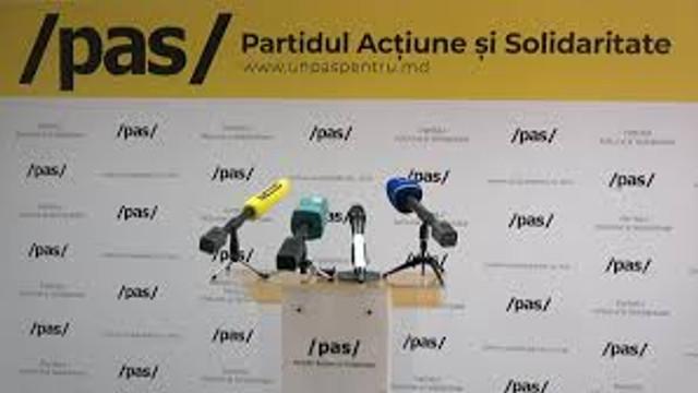 Fracțiunea PAS nu va participa la ședința de astăzi a Parlamentului. Cerință către Guvern